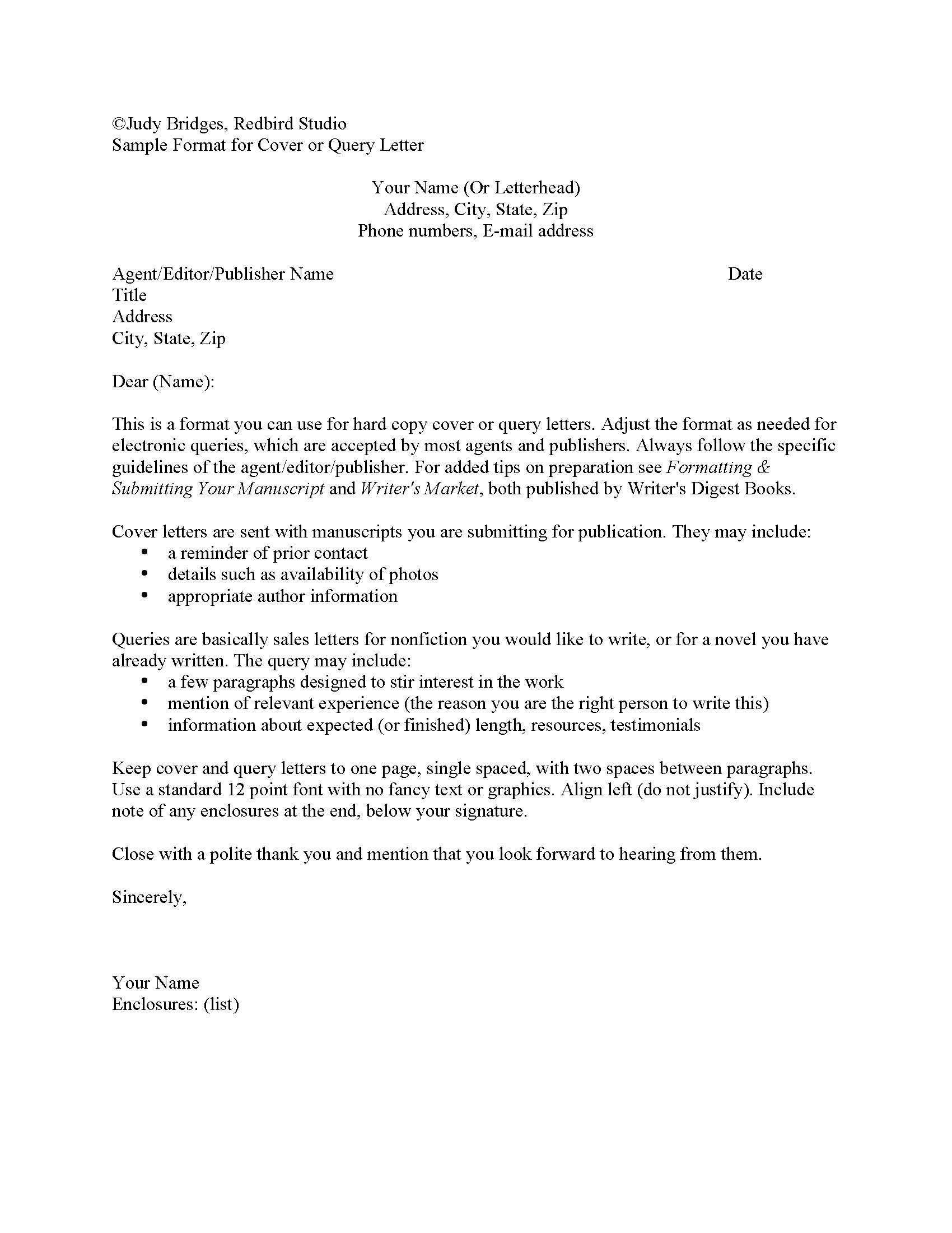 cover letter for writing submission sending resume and cover letter